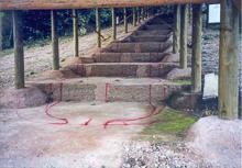 ① 焼成室が24、全長約55mの畑ノ原古窯